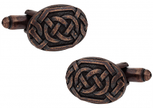 Bronze Celtic Cufflinks
