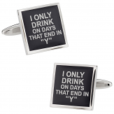 My Drinking Cufflinks