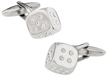 Dice Casino Cufflinks