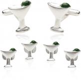 Martini Cufflins and Studs