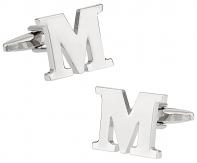 "Letter ""M"" Cufflinks"