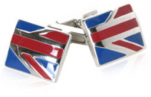 Union Jack Styled Cufflinks
