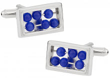 Moving Abacus Cufflinks