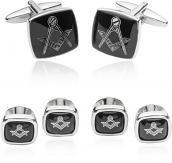 Masonic Formal Set in Silver