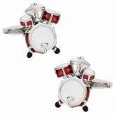 Drum Set Cufflinks