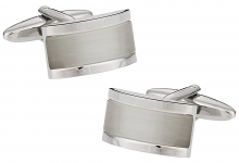 White Glassy Cufflinks