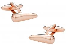 Rose Gold Fang Shaped Cufflinks