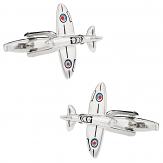 Spitfire Fighter Plane Cufflinks