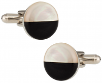 Black & White Cookie Cufflinks