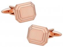 Rose Gold Engravable Cufflinks