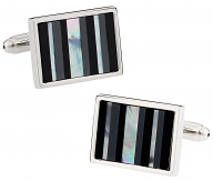 Classic Striped Cufflinks