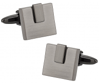 Burnished Silver Cufflinks