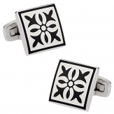 Explosion in Black & White | Canada Cufflinks