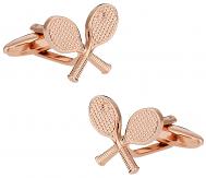 Goldtone Tennis Cufflinks