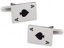 Ace Cufflinks Poker