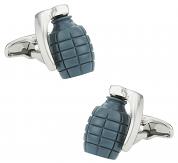Green Grenade Cufflinks