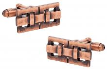 Copper Oxidized Cufflinks
