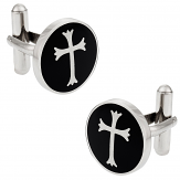 Cool Cross Cufflinks
