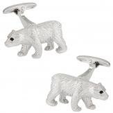 Polar Bear Cufflinks   Canada Cufflinks