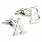 Letter Cufflinks - Pick Your Letters