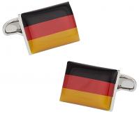 German Flag Cufflinks