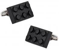 Black Building Block Cufflinks