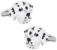 Dalmation Cufflinks Painted