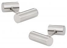 Cylindrical Titanium Cufflinks