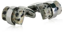 Dalmation Stone Cufflinks