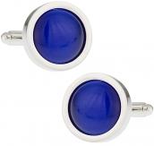 Bold Blue Cufflinks