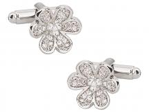Feminine Flower Cufflinks