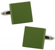 Bold Green Cufflinks | Canada Cufflinks