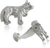Howling Wolf Cufflinks
