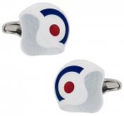 British Air Force Helmet Cufflinks