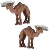 Camel Cufflinks Hand Painted | Canada Cufflinks