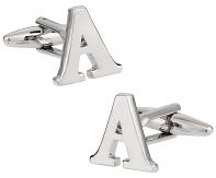 """Letter """"A"""" Cufflinks"""