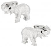 Silver Elephant Cufflinks   Canada Cufflinks