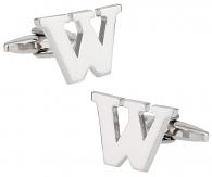 """Letter """"W"""" Cufflinks"""