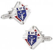 Knights of Columbus Cufflinks