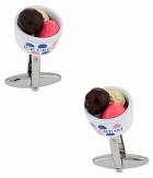Ice Cream Cufflinks in a Bowl | Canada Cufflinks