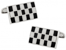 Checkered Cuff links