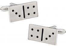 Dominos Game Cufflinks