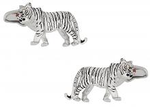 Tiger Cufflinks Swarovski