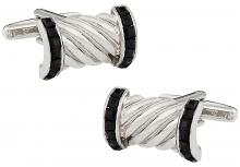 Cz Black Rope Cuffs
