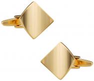 Gold Curled Cufflinks