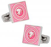 Pink Cupid Valentine Cufflinks | Canada Cufflinks