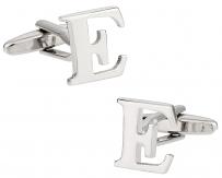 """Letter """"E"""" Cufflinks"""